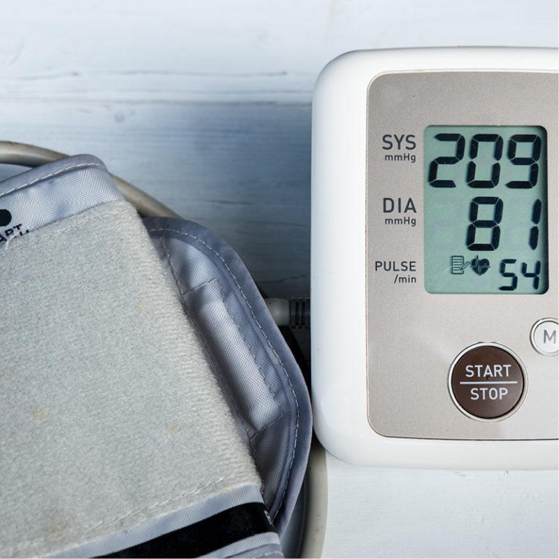 24-Stunden-Blutdruckmessung